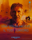 Blade Runner 2049 - Italian Movie Poster (xs thumbnail)