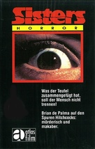 Sisters - German VHS movie cover (xs thumbnail)