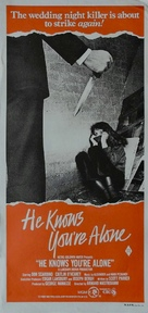He Knows You're Alone - Australian Movie Poster (xs thumbnail)
