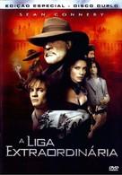 The League of Extraordinary Gentlemen - Brazilian DVD cover (xs thumbnail)