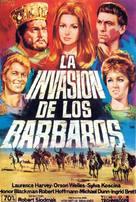 Kampf um Rom I - Spanish Movie Poster (xs thumbnail)
