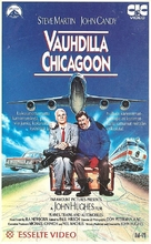 Planes, Trains & Automobiles - Finnish VHS movie cover (xs thumbnail)