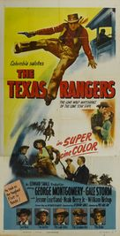 The Texas Rangers - Movie Poster (xs thumbnail)