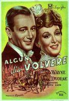 Flame of Barbary Coast - Spanish Movie Poster (xs thumbnail)