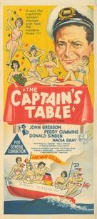 The Captain's Table - Australian Movie Poster (xs thumbnail)