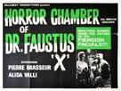 Les yeux sans visage - British Movie Poster (xs thumbnail)