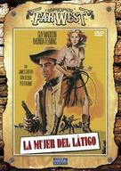 Bullwhip - Spanish Movie Cover (xs thumbnail)