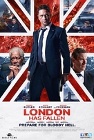 London Has Fallen - Lebanese Movie Poster (xs thumbnail)