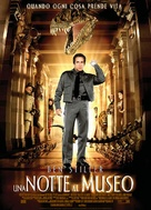 Night at the Museum - Italian Movie Poster (xs thumbnail)