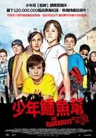 Die Vorstadtkrokodile - Taiwanese Movie Poster (xs thumbnail)