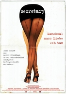 Secretary - German Movie Poster (xs thumbnail)