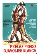 The Deserter - Yugoslav Movie Poster (xs thumbnail)