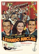 Anchors Aweigh - Spanish Movie Poster (xs thumbnail)