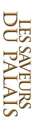 Les saveurs du Palais - French Logo (xs thumbnail)