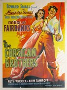 The Corsican Brothers - Indian Movie Poster (xs thumbnail)