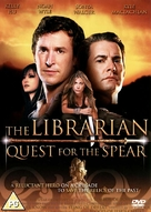The Librarian: Quest for the Spear - British DVD cover (xs thumbnail)