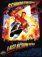Last Action Hero - French Movie Poster (xs thumbnail)