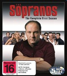 """The Sopranos"" - New Zealand Blu-Ray cover (xs thumbnail)"