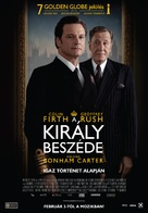 The King's Speech - Hungarian Movie Poster (xs thumbnail)