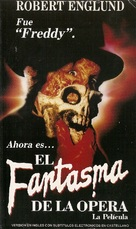 The Phantom of the Opera - Argentinian VHS cover (xs thumbnail)