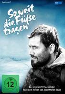 So weit die Füße tragen - German DVD cover (xs thumbnail)