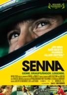 Senna - German Movie Poster (xs thumbnail)
