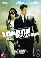 London Boulevard - Danish DVD cover (xs thumbnail)