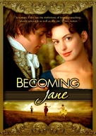 Becoming Jane - DVD movie cover (xs thumbnail)