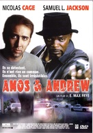 Amos And Andrew - French DVD movie cover (xs thumbnail)