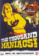 Two Thousand Maniacs! - DVD cover (xs thumbnail)