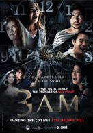 3 A.M. 3D - Malaysian Movie Poster (xs thumbnail)