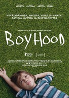 Boyhood - Finnish Movie Poster (xs thumbnail)