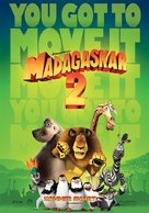 Madagascar: Escape 2 Africa - Norwegian Movie Poster (xs thumbnail)