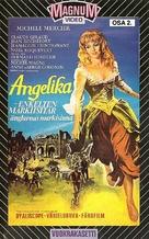 Merveilleuse Angélique - Finnish VHS movie cover (xs thumbnail)