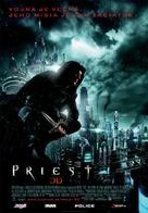 Priest - Slovak Movie Poster (xs thumbnail)
