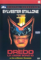 Judge Dredd - Italian Movie Cover (xs thumbnail)