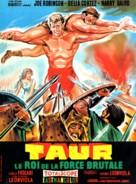 Taur, il re della forza bruta - French Movie Poster (xs thumbnail)