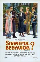 Shameful Behavior? - Movie Poster (xs thumbnail)