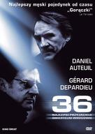 36 Quai des Orfèvres - Polish DVD movie cover (xs thumbnail)