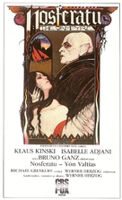 Nosferatu: Phantom der Nacht - Finnish VHS cover (xs thumbnail)