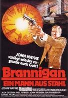 Brannigan - German Movie Poster (xs thumbnail)