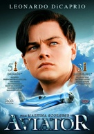 The Aviator - Polish DVD cover (xs thumbnail)
