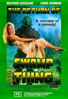 The Return of Swamp Thing - Australian Movie Poster (xs thumbnail)