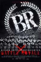 Battle Royale - Spanish Movie Poster (xs thumbnail)