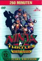 """Ninja Turtles: The Next Mutation"" - German DVD cover (xs thumbnail)"