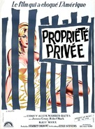 Private Property - French Movie Poster (xs thumbnail)