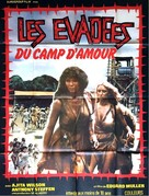 Escape from Hell - French Movie Poster (xs thumbnail)
