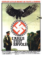 The Eagle Has Landed - French Movie Poster (xs thumbnail)