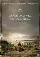 Bir zamanlar Anadolu'da - Spanish Movie Poster (xs thumbnail)