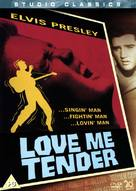 Love Me Tender - British Movie Cover (xs thumbnail)